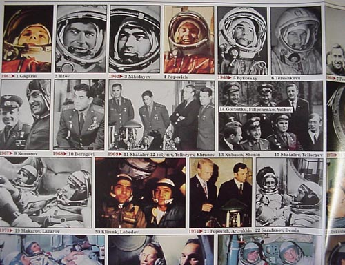 # pstnew115            Set of 3 Cosmonautics posters 2