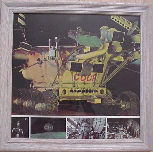 # pstnew116            Lunakhod-1/Luna-17 framed poster 1