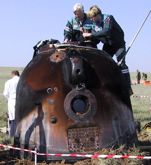 # h132            Soyuz landing capsule hatch opener-wrench 4