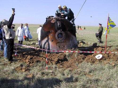# h132            Soyuz landing capsule hatch opener-wrench 5