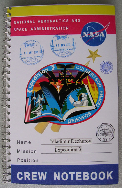 # h066a            ISS-3 flown NASA Crew Book 1