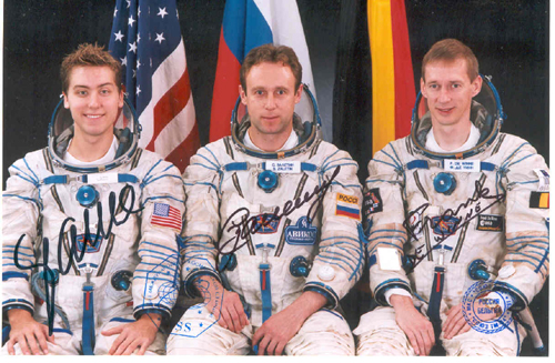 # fpit110            Soyuz TMA first planned crew (including Bas 1
