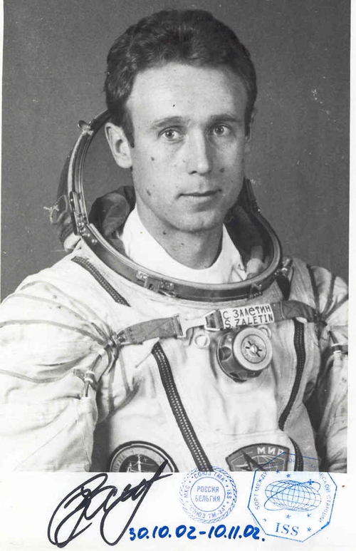 # fpit112            Cosmonaut Sergei Zalyotin flown photo 1