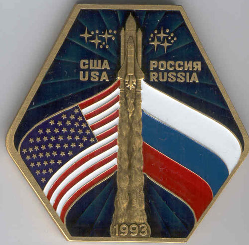 # pnts132            Soyuz TM-21/MIR Russia-USA flight onboard p 1