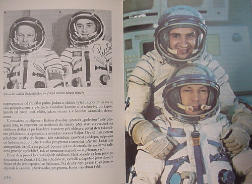 # buca301            Czechoslovakian back up cosmonaut Pelczak autographed book 3