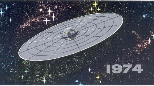 # alddc103            Glushko New Years 1974 card sent to cosmonaut Lazarev 1