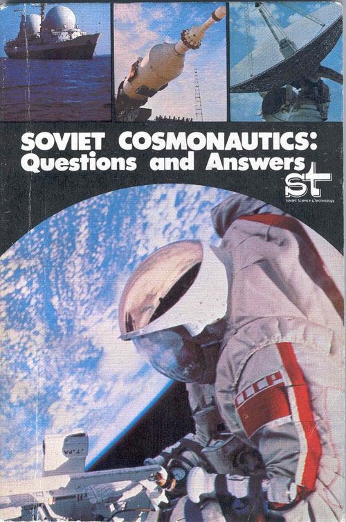 # eb130            Soviet Cosmonautics:Questions and Answers signed/notared book 1