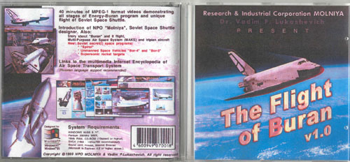 # eb141            The Flight of Buran CD-Rom 1