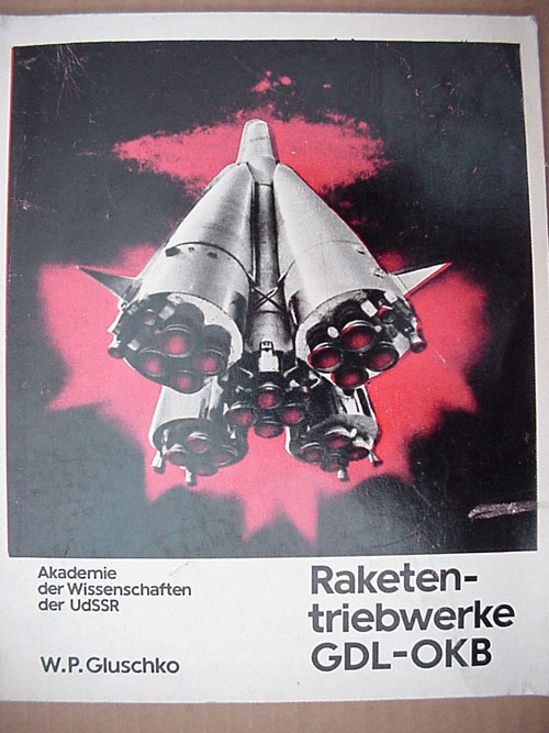# gb150            Book of founder of Soviet rocketery V.Glushko (German language) 1