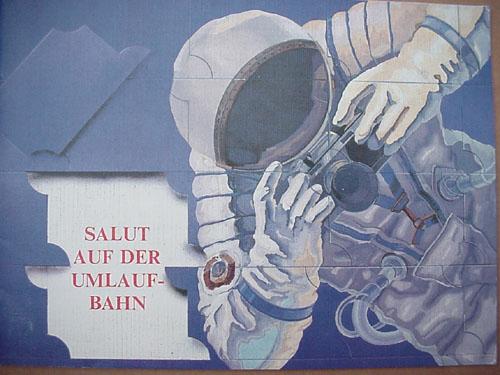 # gb151            Salyut on orbite/Salyut auf der umlaufbahn (German language) 1