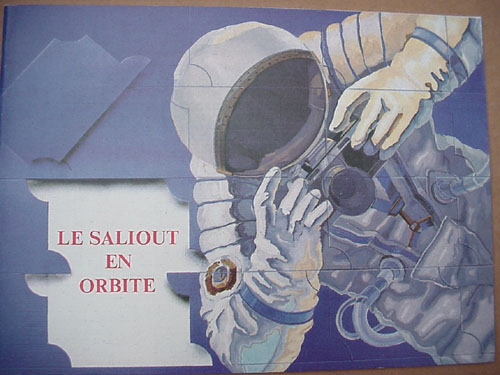 # gb155            Le Saliout en orbite/Salyut on orbit (French language) 1
