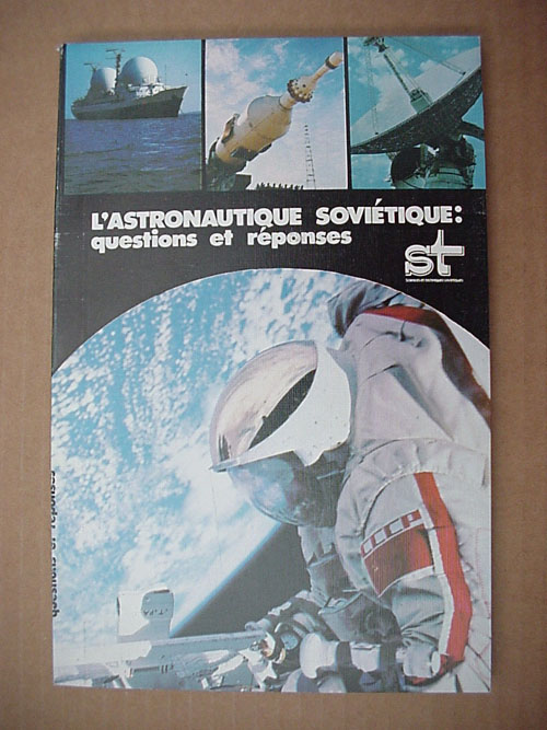 # gb156            Soviet Cosmonautics:Questions and Answers (French language) 1
