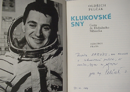 # cwa137            Czechoslovakian back up cosmonaut O.Pelczak book 2