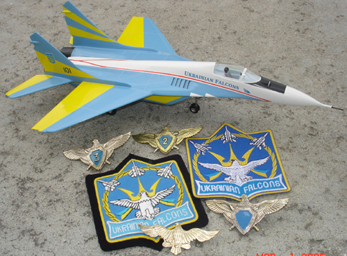 # mp096a            Ukrainian Falcons Aerobatic team Mig-29 additional images 2