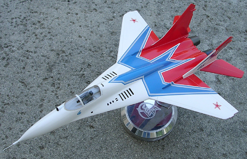 # mp098            Mig-29 STRIZHY new Swifts colours exclusive model 4
