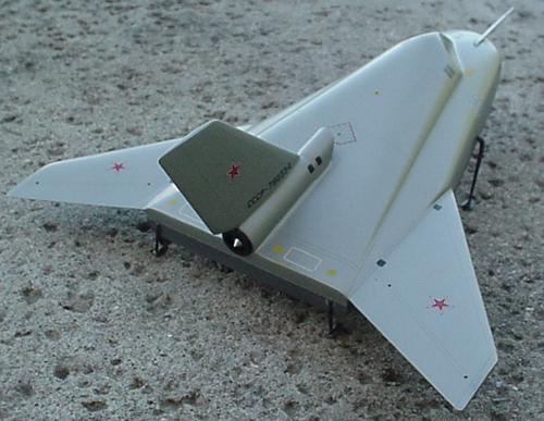 # mp200            MIG-105-11 Test Spaceplane 3