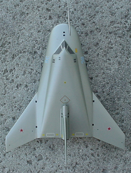 # mp200            MIG-105-11 Test Spaceplane 4