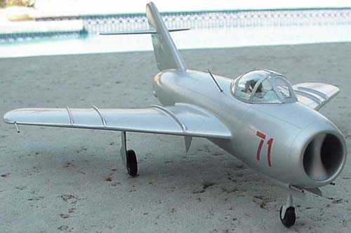 # mp110            Mig-17 Mikoyan presentation model 3