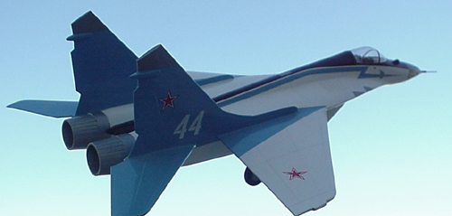 # mp121            Mikoyan Mig-29 `Strizhy` (Swifts) Aerobatic team 3