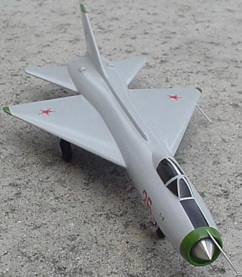 # sp162            T-5 Sukhoi supersonic experimental fighter 2
