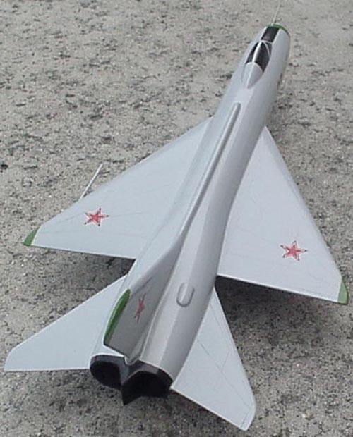 # sp162            T-5 Sukhoi supersonic experimental fighter 3
