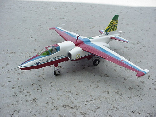 # sp200            SU-25 `Sky Hussars` Aerobatic Team model 1