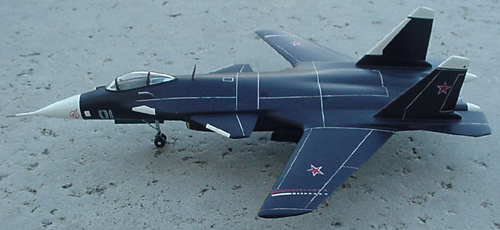 # sp202            S-37  BERKUT Sukhoi model 3