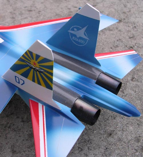 # sp099            Su-27 Russian Knights new colours 2