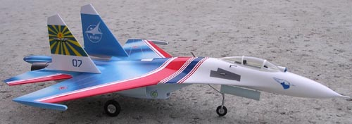 # sp099            Su-27 Russian Knights new colours 3