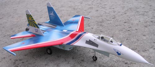 # sp099            Su-27 Russian Knights new colours 4