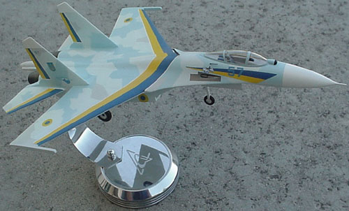 # sp201A            Su-27 Ukrainian Demonstration-Aerobatic team. 2