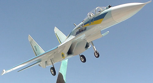 # sp201A            Su-27 Ukrainian Demonstration-Aerobatic team. 3