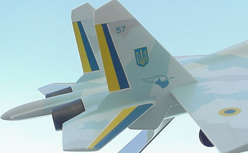 # sp201A            Su-27 Ukrainian Demonstration-Aerobatic team. 5