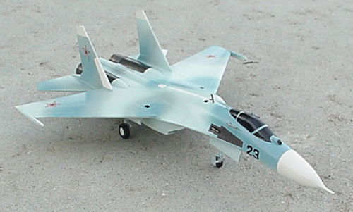 # sp203            Su-27 Sukhoi factory model for IAF 1