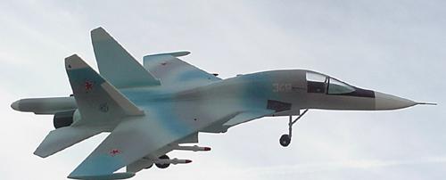 # sp205            Su-32FN/Su-34 Sukhoi factory model 3