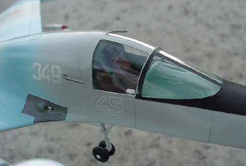 # sp205            Su-32FN/Su-34 Sukhoi factory model 5