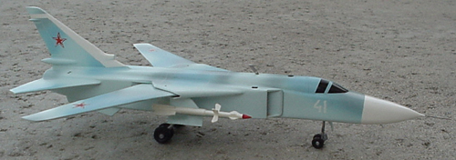 # sp199            Su-24MK Sukhoi bomber model 2