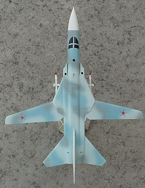 # sp199            Su-24MK Sukhoi bomber model 3