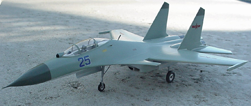 # sp207            SU-30 MKI Chinese Air Forces Sukhoi model 1