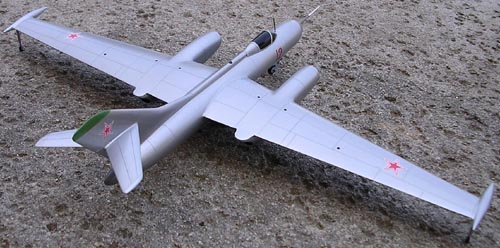 # yp145            Yak-25RV Mandrake recon aircraft model 2