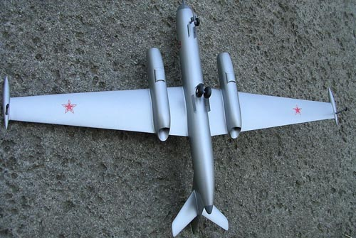 # yp145            Yak-25RV Mandrake recon aircraft model 3