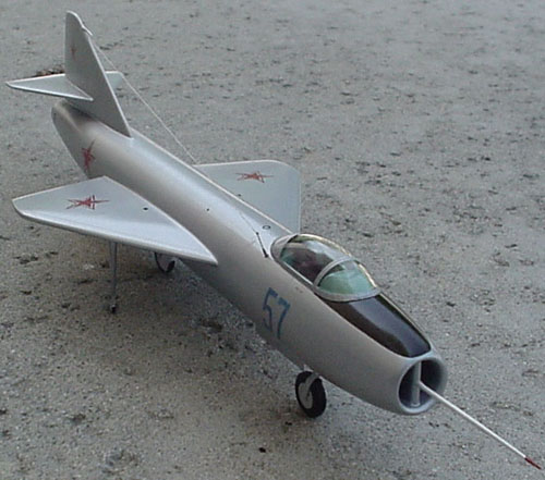 # yp200            Yak-1000 experimental interceptor model