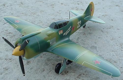 # lp105            LA-7 fighter of Great patriotic War 2