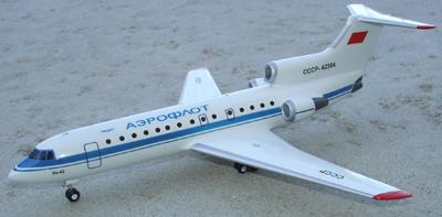 # zhopa025a Yak-42 Aeroflot 1